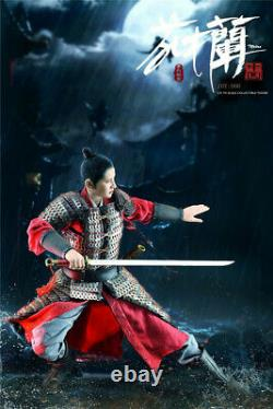 ZOY TOYS 1/6 General Xiaoyeol Mulan Ancient Female Figure ZOY006 Deluxe Ver
